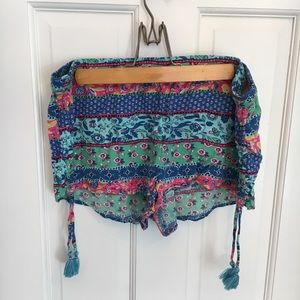 Aerie Colorful Pattern Shorts